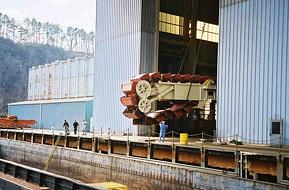 Continuous Barge Unloader Arm