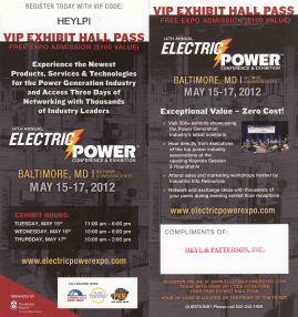 Electric Power 2012 Pass