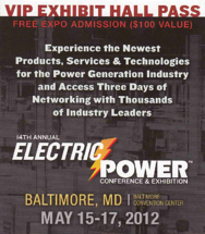 Electric Power 2012