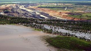 Flooded Australian Coal Mine