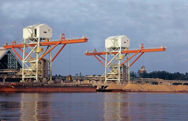 Grab Barge Unloaders