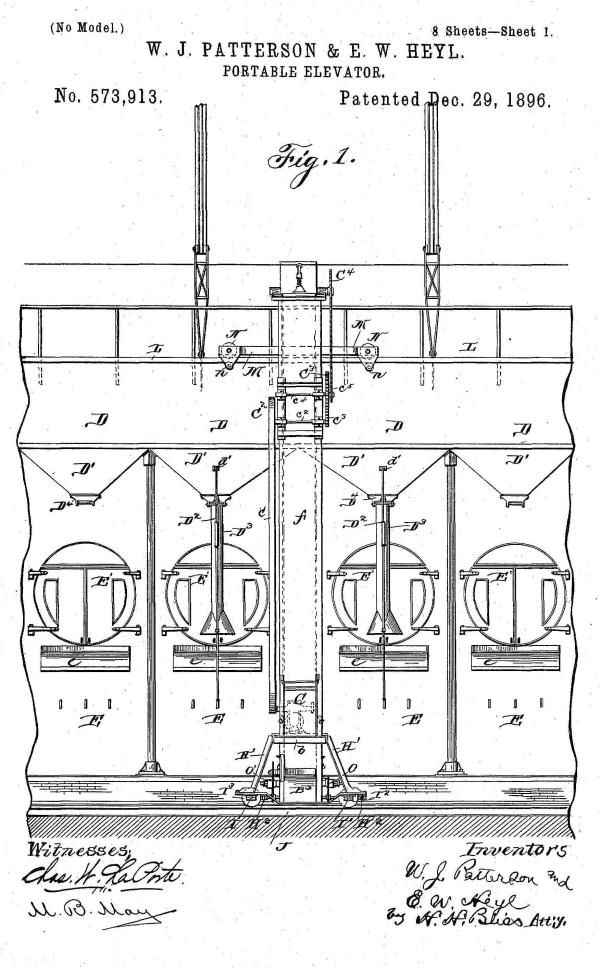 Portable Elevator Patent