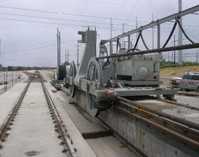 Wire Rope Train Positioner