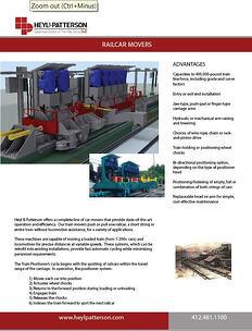 Railcar Movers Brochure