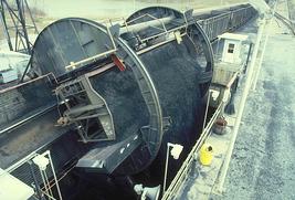 Railcar Dumping Coal