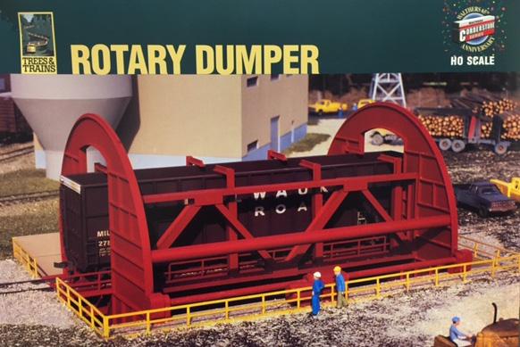 Model Railcar Dumper