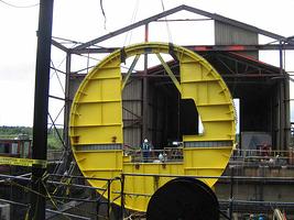 Rotary Dumper End Ring