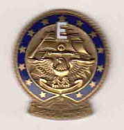 Navy E Award Pin