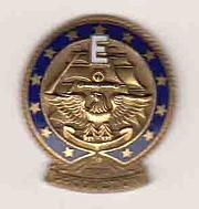 Navy E Award Pin